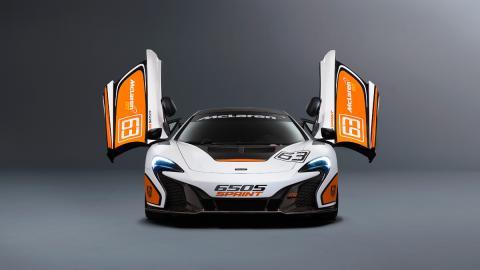 McLaren 650S Sprint - puertas abiertas
