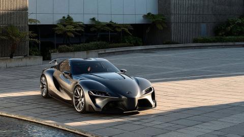 Toyota FT-1 Graphite Concept