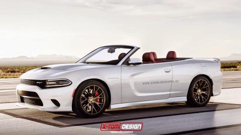 Así imagina X-Tomy el Dodge Charger SRT Hellcat Cabrio