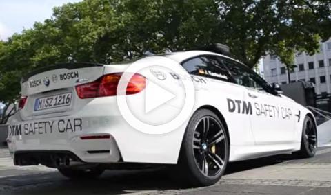 El BMW M4 DTM Safety Car tiene un sonido celestial