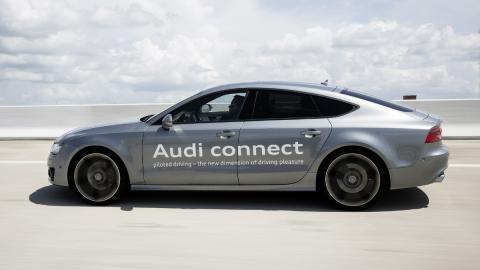 Conducción pilotada atascos Audi A7 Sportback