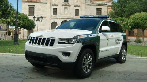 Jeep Grand Cherokee Guardia Civil