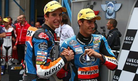 Parrilla de salida Moto3 GP Gran Bretaña 2014