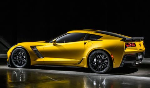 chevrolet corvette z06 lateral