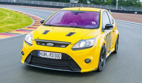 Wolf Racing Ford Focus RS 500 Allrad