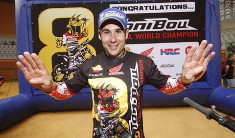 Toni Bou campeón trial