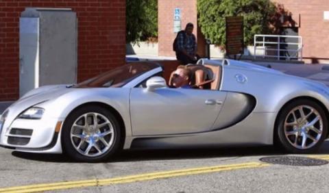 Arnold Schwarzenegger Bugatti Veyron