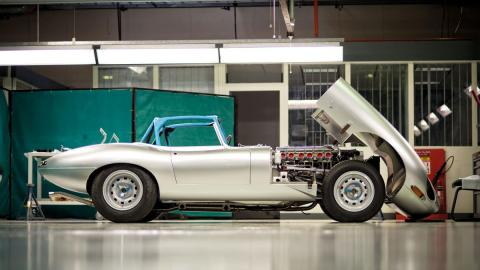 El taller Browns Lane de Jaguar Heritage abre sus puertas