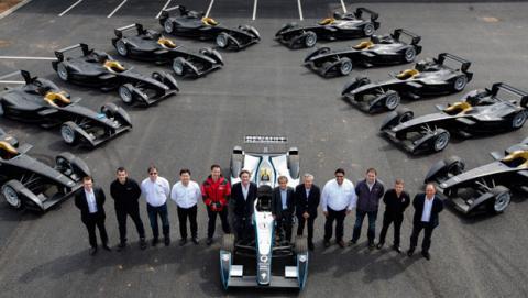 equipos Formula E