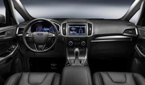 Ford S-Max 2015 interior