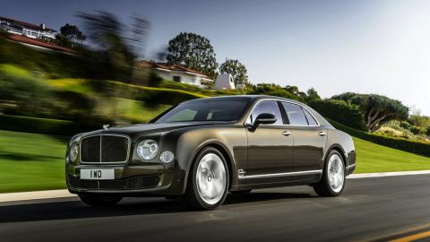 Bentley Mulsanne Speed lateral