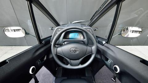 Toyota i-Road interior