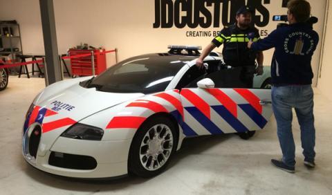 Bugatti Veyron Policía holandesa