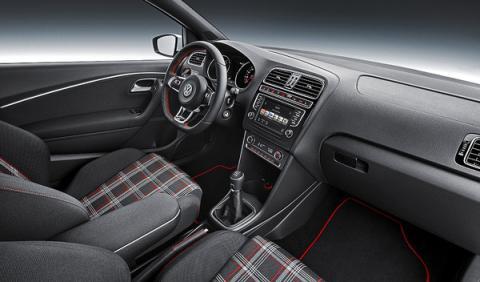 Nuevo Polo GTI interior