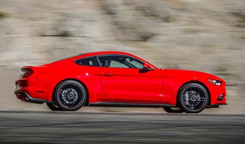 Mustang lateral