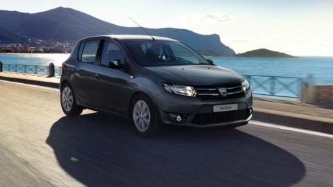 Dacia Sandero Black Touch frontal