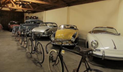 La impresionante colección de coches de Nelson Blue