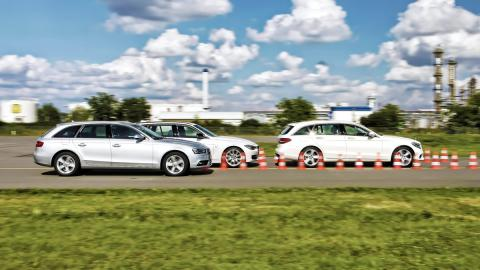 Mercedes Clase C Estate/BMW 320iT/Audi A4 Avant