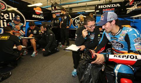 Libres Moto3 GP Aragón 2014: Rins, el mejor del viernes