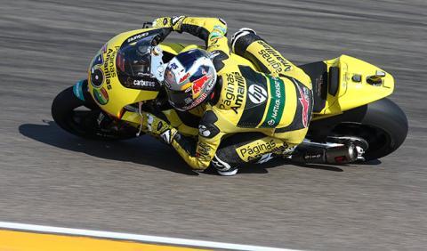Parrilla de salida Moto2 GP Aragón 2014