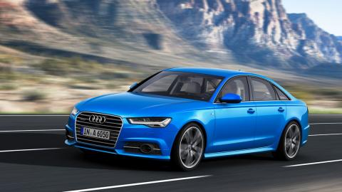 Delantera del Audi A6 2015