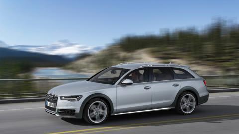 Nuevo Audi allroad quattro frontal