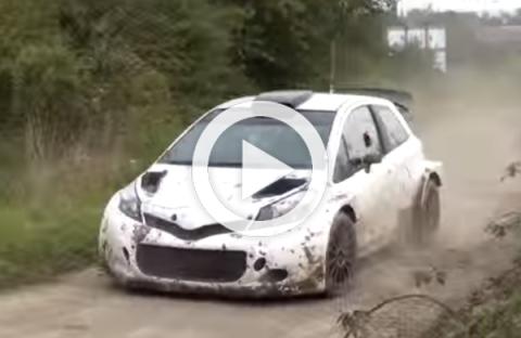 El Toyota Yaris WRC, cazado en unos tests en Bélgica