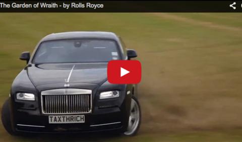 ¡Drift con un Rolls Royce Wraith!