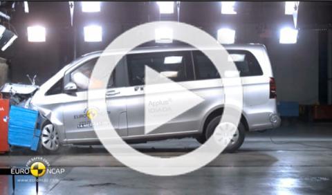 Resultados EuroNCAP: Citroën C4 Cactus, X-Trail y Clase V