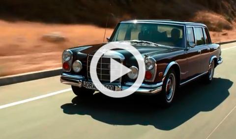 El presentador Jay Leno nos enseña su Mercedes 600 de 1972