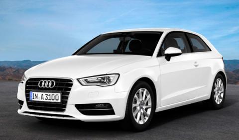 Audi A3 1.6 TDI ultra delantera
