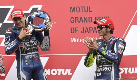 Jorge Lorenzo aviva la lucha por el subcampeonato de MotoGP