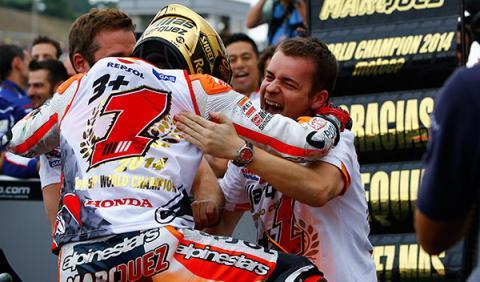 márquez campeón motogp 2014