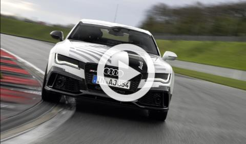 Audi RS7 Piloted Driving Concept: a fondo sin conductor
