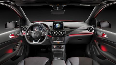 mercedes clase B 2014 interior