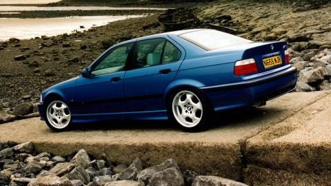 BMW M3 E36 lateral