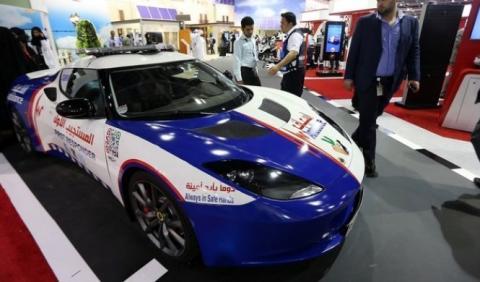 Un Lotus Evora para los servicios de emergencias de Dubai