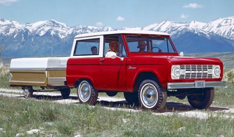 A la venta un Ford Bronco de 1975 completamente original