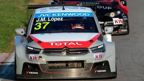 WTCC, Japón 2014: Pole de 'Pechito' López con Citroën