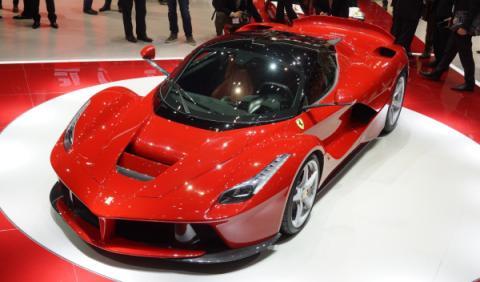 Un Ferrari LaFerrari a la venta por 2,6 millones de euros