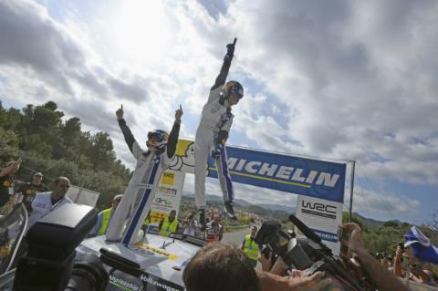 Rally de Cataluña 2014: Ogier, campeón del Mundo