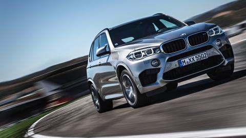 BMW X5 M frontal dinámica