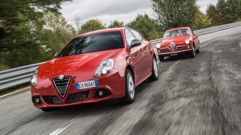 Alfa Romeo Giulietta Sprint nuevo viejo