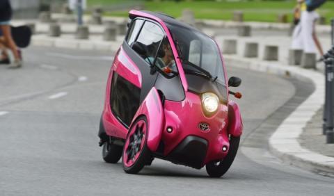 Toyota i-Road en Grenoble