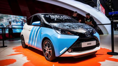 Toyota Aygo personalizable frontal