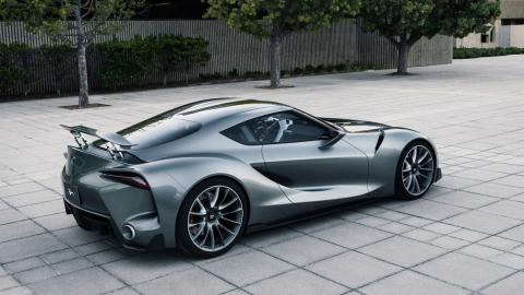 Toyota FT-1 concept trasera
