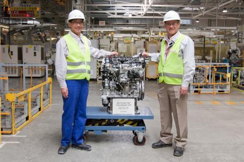 Toyota un millón de motores en su planta de Polonia