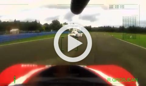 Ogier vs Grosjean: ¡Paintball sobre cuatro ruedas!