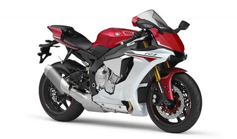 Yamaha R1 2015 roja