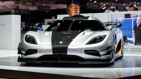 cinco mejores superdeportivos 2014 Koenigsegg One1